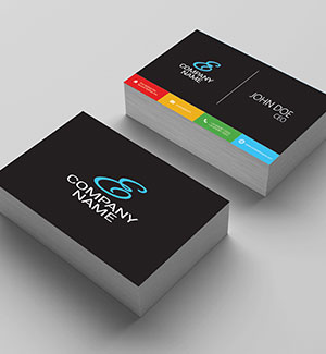 Business cards design exchange