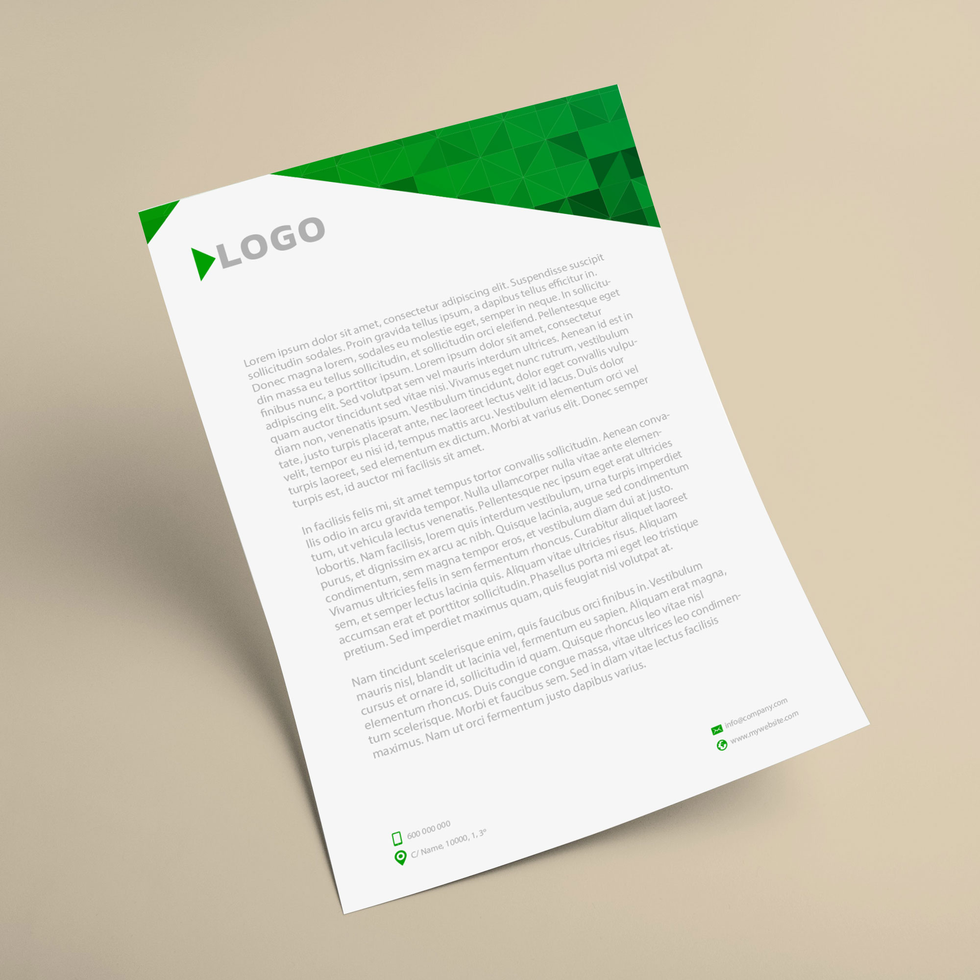 Cheap Letterhead Printing & Free Delivery