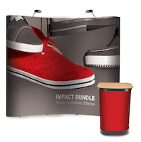 Impact 3m x 3m Curved Stand