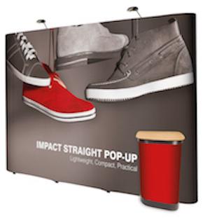 Impact 3m x 3m Straight Stand